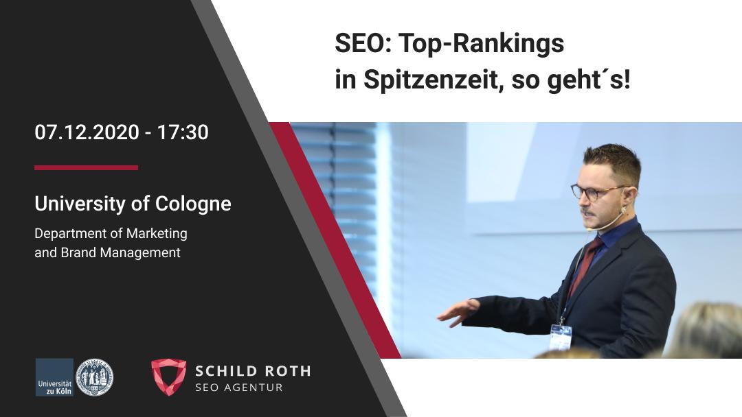 Universität zu Köln Vortrag von Timothy Scherman